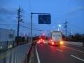 210503安堂の交差点から大和川堤防へ