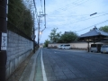 210503道明寺の横を通り抜ける