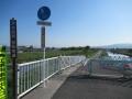 210503稗田橋の自転車道は通行止め