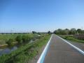 210503佐保川の自転車道で羅城門橋へ