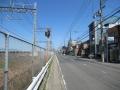 210503近鉄の線路沿いを北上