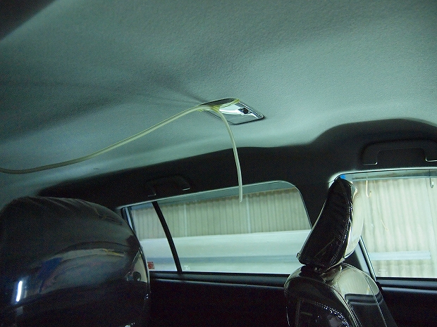 車内ルームクリーニング