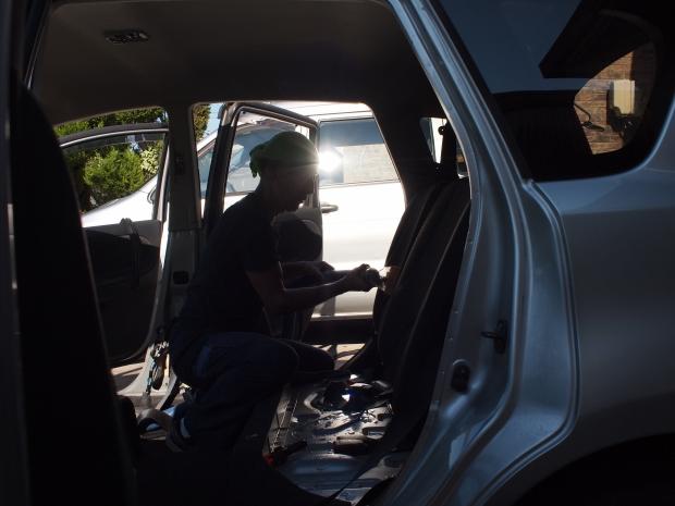 車内クリーニング