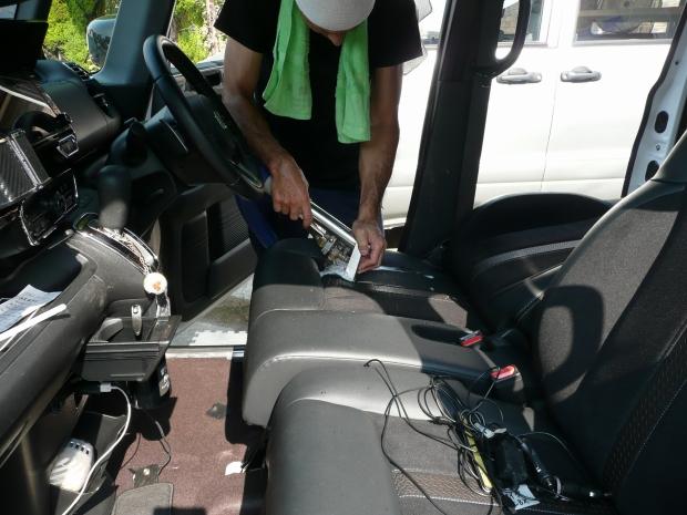 車シートクリーニング