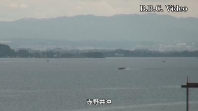 GWの最後の最後の日曜日の琵琶湖!! 湖上はガラ空き(YouTubeムービー)