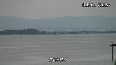 緊急事態宣言解除初日の琵琶湖(YouTubeムービー)