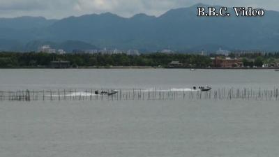 緊急事態宣言解除直後の日曜日の琵琶湖(YouTubeムービー)