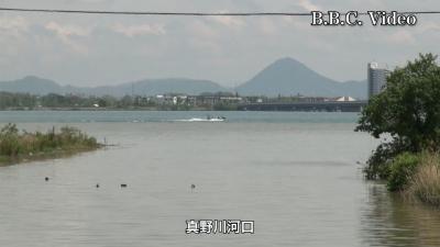 雨後の琵琶湖はガラ空き(YouTubeムービー)