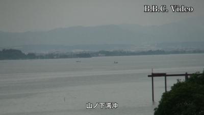 平日はガラ空きの琵琶湖!!(YouTubeムービー)