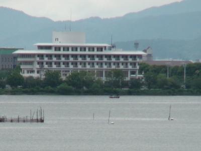 琵琶湖南湖佐川沖(6月1日(9時40分頃)