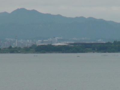 琵琶湖南湖赤野井沖(6月1日(9時40分頃)