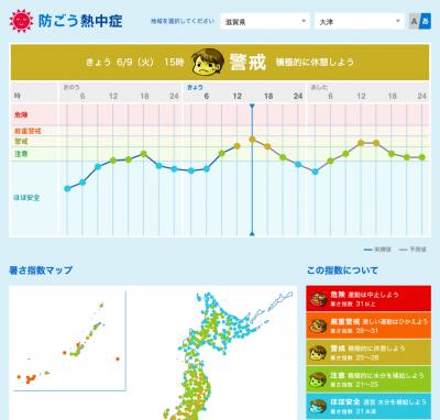 NHK防ごう熱中症(6月9日13時)