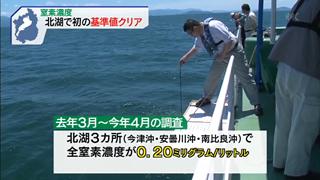 琵琶湖の水質調査1