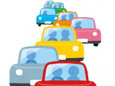 渋滞(いらすとや)