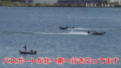 土曜日の琵琶湖は天候回復したけど風がヤバそう(YouTubeムービー)