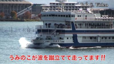 雨後の爆風で白波立ちまくりの大荒れ #今日の琵琶湖(YouTubeムービー)