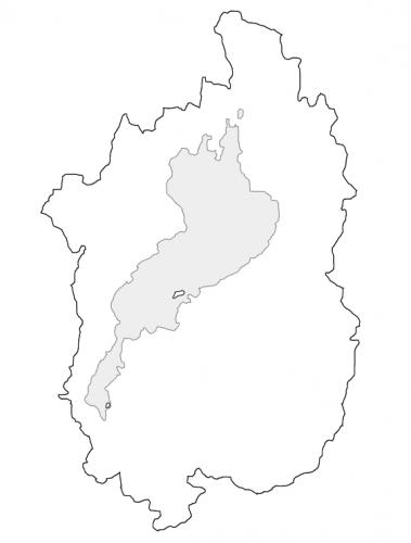 滋賀県と琵琶湖