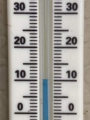 堅田の13時の気温10度