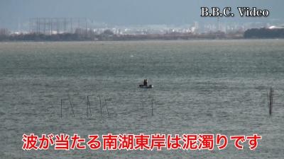 雨後の爆風で白波立ちまくりの大荒れ!! #今日の琵琶湖(YouTubeムービー)