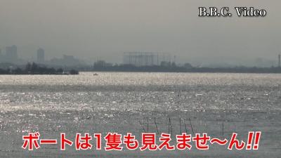 南西の強風が続く琵琶湖南湖!! ボートは1隻も見えませ〜ん #今日の琵琶湖(YouTubeムービー)