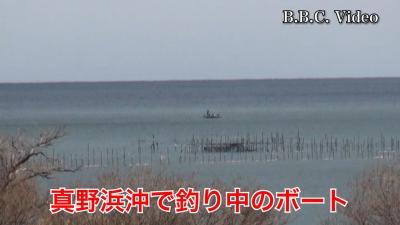 雪が止んでいい天気になった琵琶湖!! 湖上はガラ空きです #今日の琵琶湖(YouTubeムービー)