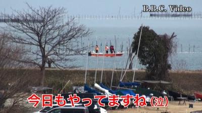 日曜日の琵琶湖は晴天微風のものすごくいい天気です #今日の琵琶湖(YouTubeムービー)