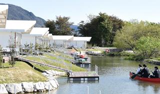 4月20日にオープンしたエバーグレイズ琵琶湖