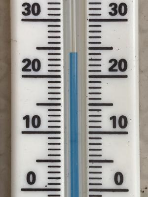 堅田の気温24度(4月21日15時頃)