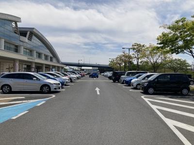 びわ湖大橋米プラザの駐車場は今のところ普通に開いてます(21/04/27)