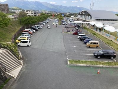 GW5日目のびわ湖大橋米プラザは大入り満員(21/05/03)
