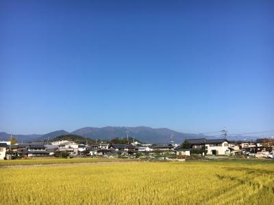 堅田周辺はほぼ快晴で風も弱く絶好のサイクリング日和です(11月17日10時15分頃)