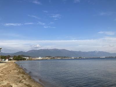 琵琶湖お北湖真野沖(12月12日10時頃)