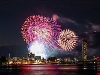 びわ湖大花火大会の様子