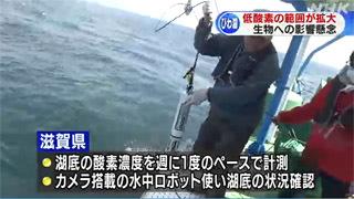 琵琶湖深層の低酸素域拡大で調査強化へ
