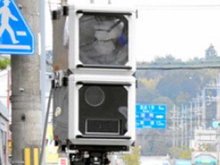 滋賀県警が導入した新型可搬式オービス