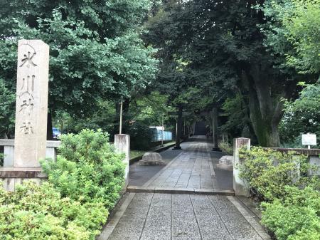 20200709渋谷氷川神社02