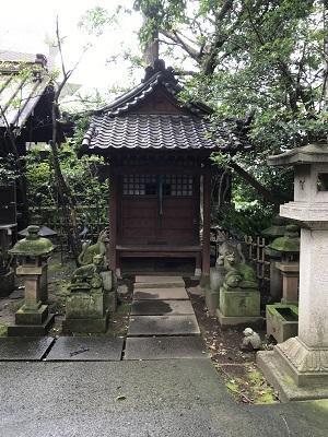 20200709渋谷氷川神社20