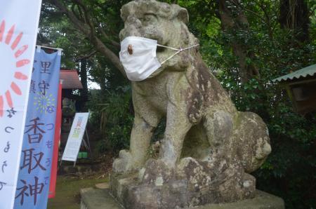 20200727冨里香取神社 高松入神社05