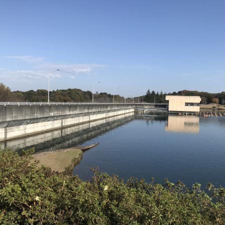 20201116椿川ダム02