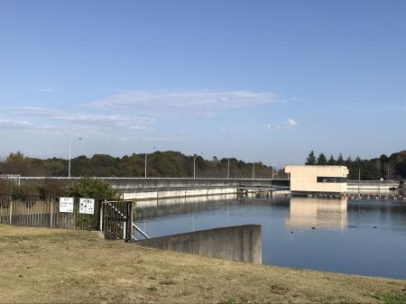 20201116椿川ダム01