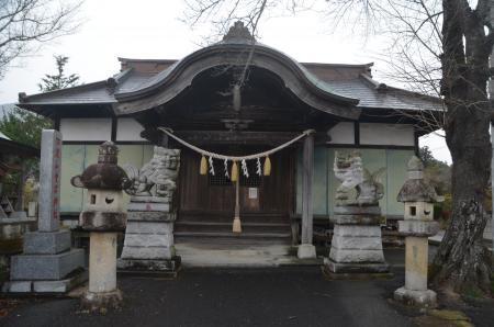 20201205加波山神社八郷拝殿05