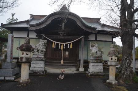 20201205加波山神社八郷拝殿08