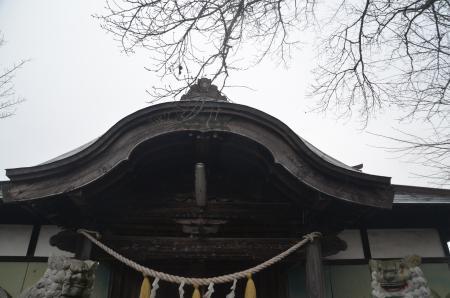 20201205加波山神社八郷拝殿07