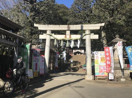 20210120太子堂八幡神社02