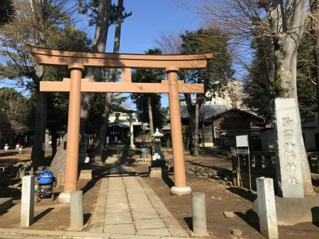 20210125駒留八幡神社02