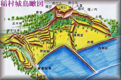 20201128稲村城址縄張り図