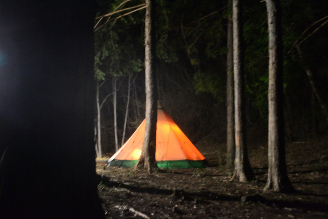 何がなんでもキャンプだし PC DELL SSD Corei5 せせらぎ荘キャンプ場 薪スト 燃焼臭 犬 嗅覚 ステーキ