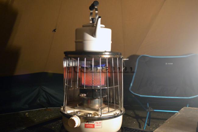 何がなんでもキャンプだし レインボー トヨトミ アルパカ フジカ 石油ストーブ 冬キャンプ 芯 交換 裏技 自己責任