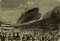800px-Caio_Duilio_(ship,_1880)_-_Launch_-_LIllustrazione_Italiana