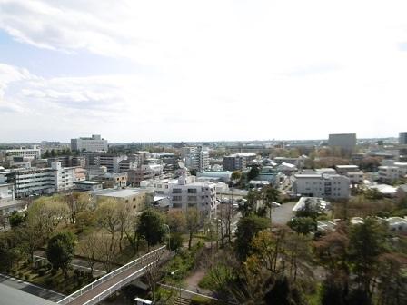 ウエリス11階ベランダからの眺望